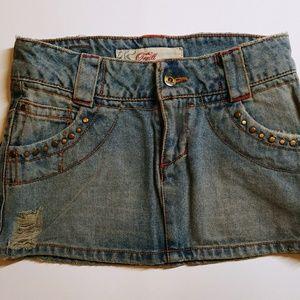 O'Neill Denim Mini Skirt.